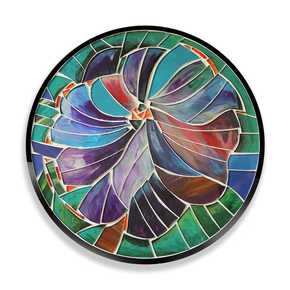 dolceflora masuță din fier forjat și mozaic