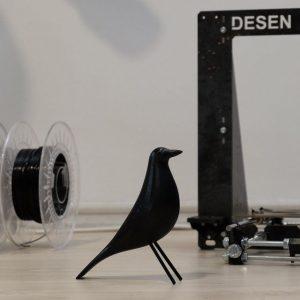 Pasărea Eames Neagră