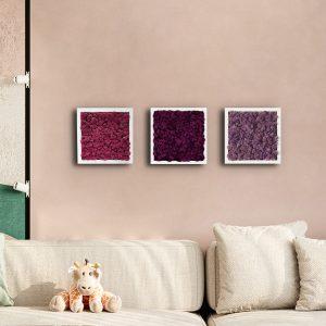 Trio Purple